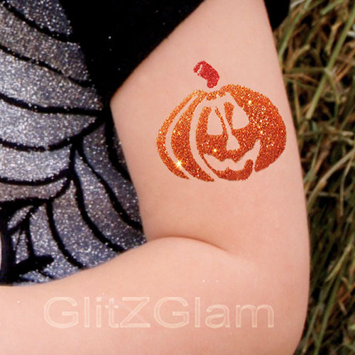 Halloween glitter tattoo kit halloween tattoos for Where to get glitter tattoos