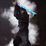 Ninja Sword LED (Light up) with Sounds - BLUE