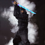 Ninja Sword Toy Light-Up (LED) 2 PACK Blue
