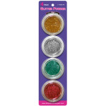 Glitter for Temporary Tattoos - Christmas Designs Cosmetic Glitter