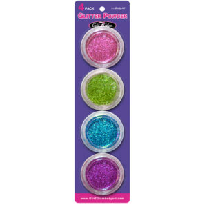 Glitter for Temporary Tattoos - Pastel Cosmetic Glitter