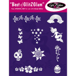 Tattoo stencil set best of GlitZGlam