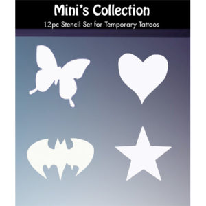 Mini's Small Tattoo Stencils Collection