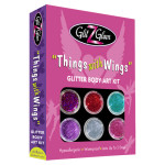 glitter tattoo kit things with wings LR