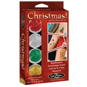 Christmas Glitter Tattoo Kit