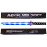 Ninja Sword LED (Light up) with Sounds - BLUE