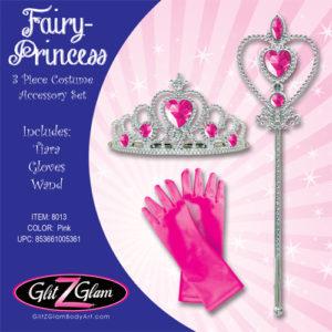 Princess Costume / Fairy Costume 3-Piece Accessory Set -Hot Pink!