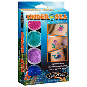 Under the Sea glitter tattoo kit 500