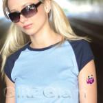 Safari'O Glitter Tattoo Kit - Animals Body Art