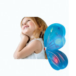 Butterfly Wing Costume Accessory - Glow in the Dark - Turquoise