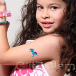Fairytales Temporary Tattoo Stencil Set for body art