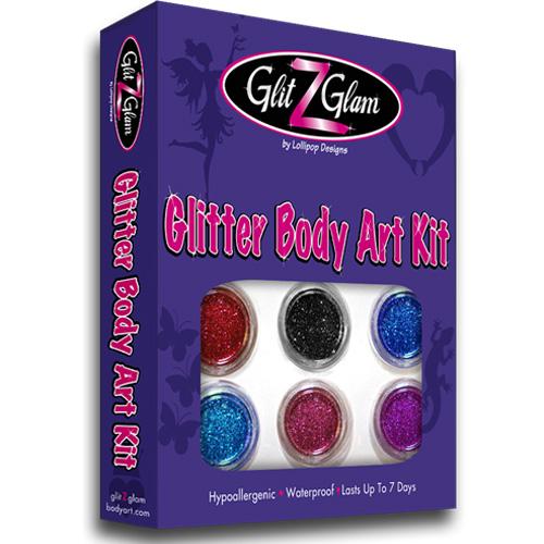 Glitter Tattoo Kits, Stencils Sets & Glitter Packs
