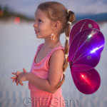 Butterfly Wing Costume for Girls - Lights Up