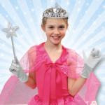 Princess Costume / Fairy Costume 3-Piece Accessory Set -White