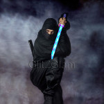 Ninja Sword Toy Light-Up (LED) Multi Color 3 PACK