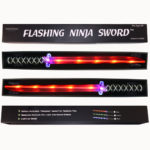 Ninja Sword - Toy Sword Light-Up (LED) 2 PACK RED