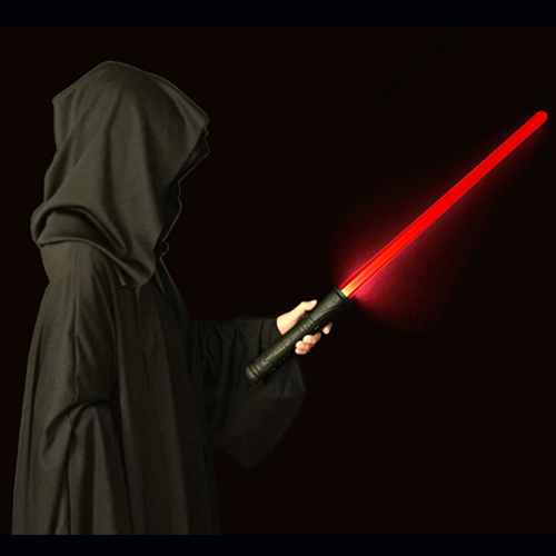 Galaxy FIRE Light Sword – DELUXE RED light-up Saber Sword with an authentic power up and down